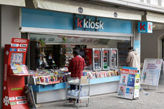 Kiosk in Lucerne Stock Image