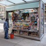 Kiosk in Manhattan, NYC stockfotografie