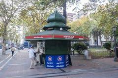 Kiosk in Montevideo Uruguay Stock Photography