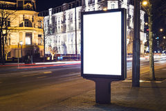 Kiosk. Outdoor kiosk city advertising in Amsterdam stock images