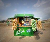 Kiosk Shop. Sprite Branded Kiosk Shop in Sri Lanka Royalty Free Stock Photo