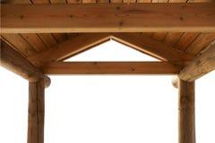 kioska drewniany dachowy Zdjęcie Stock