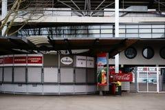 Kioska Mercedes-Benz arena Zdjęcie Stock