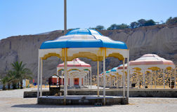 KIOSKS IN QESHM Stock Images
