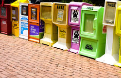 Kiosque à journaux Photographie stock libre de droits