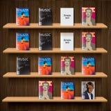 Kiosque à journaux, illustration du vecteur Eps10. Images libres de droits