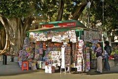 Kiosque à journaux mexicain Photographie stock libre de droits