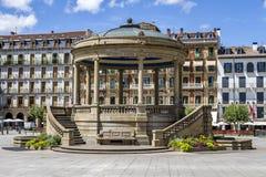 Kiosque à Pamplona photos stock