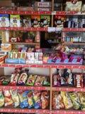 Kiosque de Periptero Photo stock