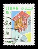 Kiosque de sérail - EL-Kamar de Deir, centenaire de 1er Counc municipal photo stock