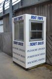 Kiosque de voyage de bateau. Photographie stock libre de droits