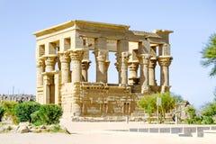 Kiosque du ` s de Trajan, temple d'ISIS chez Philae photos libres de droits