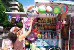 Kiosque Espagne de plage Photo libre de droits