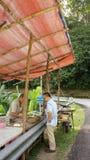 Kiosques de durian à Penang Photo stock