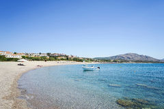 Kiotari strand, Rhodes, Grekland Royaltyfri Foto