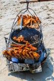 Kip barbecve Royalty-vrije Stock Afbeelding