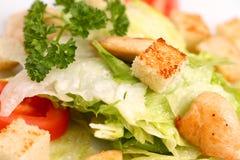 Kip Caesar Salad Royalty-vrije Stock Fotografie
