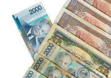 Kip is the currency of Laos. Royalty Free Stock Photo