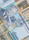 Kip is the currency of Laos. Stock Image