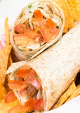 Kip Doner Kebab Royalty-vrije Stock Afbeeldingen