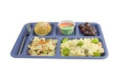 Kip een de cafetariastijl van de Lakoning Royalty-vrije Stock Foto