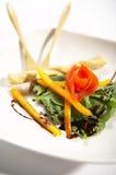 Kip en tomaten Royalty-vrije Stock Afbeelding