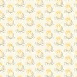 Kip het proberen gaat het ei weg Royalty-vrije Illustratie