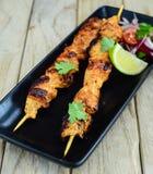 Kip Tikka Kebab Royalty-vrije Stock Afbeelding