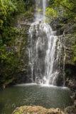 Kipahulu-Wasserfall, Maui Lizenzfreie Stockbilder