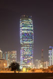 KIPCO塔在科威特市 库存照片