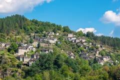 Kipi village. Central Zagoria, Greece Royalty Free Stock Photos