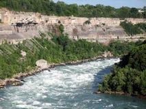 Kipieć rzekę Obrazy Royalty Free