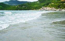 Kipiel na chiny południowi morzu zdjęcie stock