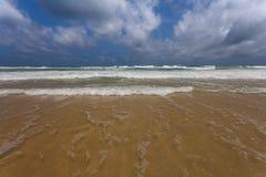 Kipiel na Karon plaży Obrazy Stock