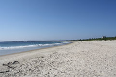 Kipiel na plaży Fotografia Royalty Free