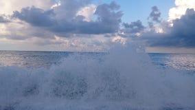 Kipiel przy plażą w wczesnym poranku zdjęcia royalty free