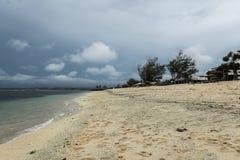 Kipiel przy Serangan pla?? zdjęcie royalty free