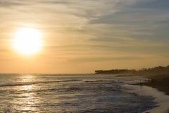 Kipiel w Balangan plaży, Bali fotografia stock