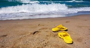 Kipiel z fala shoreline Fotografia Royalty Free