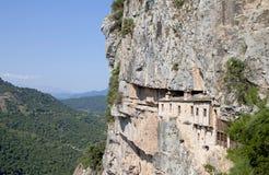 Kipina修道院在希腊 免版税库存照片