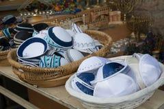 Kippa, artigos judaicos foto de stock royalty free