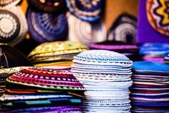 Kippa - headwear juif traditionnel, Israël. photo stock