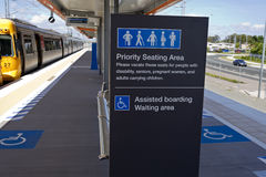 Kippa Ring Train Station Royalty Free Stock Photos