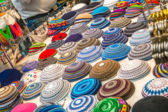 Kippah collection Royalty Free Stock Photography