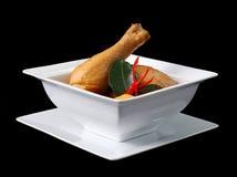 Kippen mussaman kerrie Royalty-vrije Stock Foto