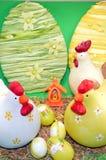 Kippen van Pasen Stock Afbeeldingen