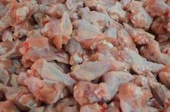 Kippenachtergrond Stock Foto's