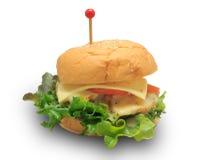 Kippenburgers Stock Afbeeldingen