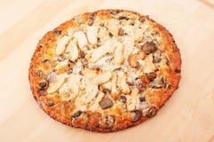 Kippenpizza Royalty-vrije Stock Foto