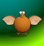 Kippenr Ronde - Kip het Klappen Royalty-vrije Stock Afbeelding